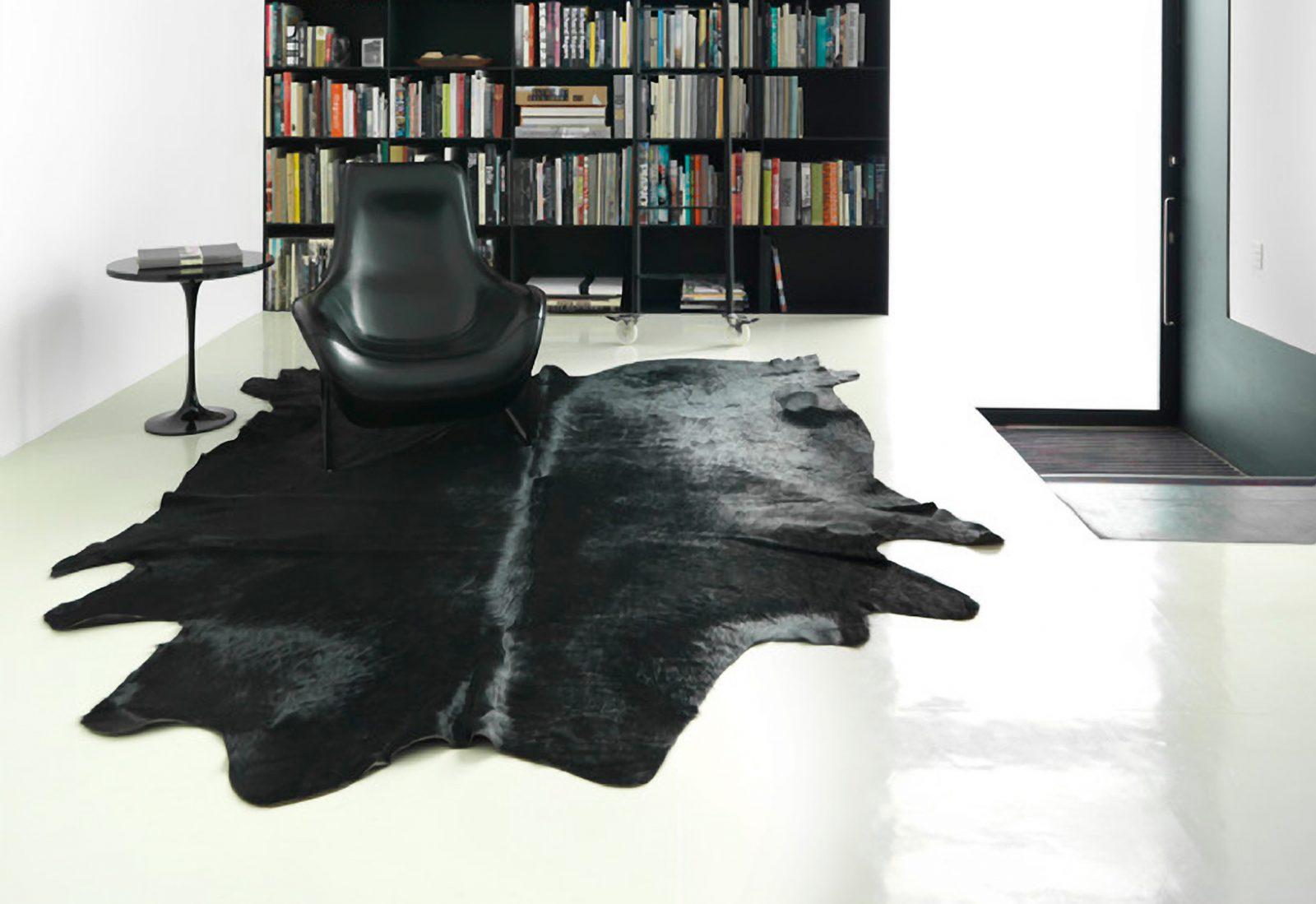 WILD COWHIDE-RUG-BLACK ARYA