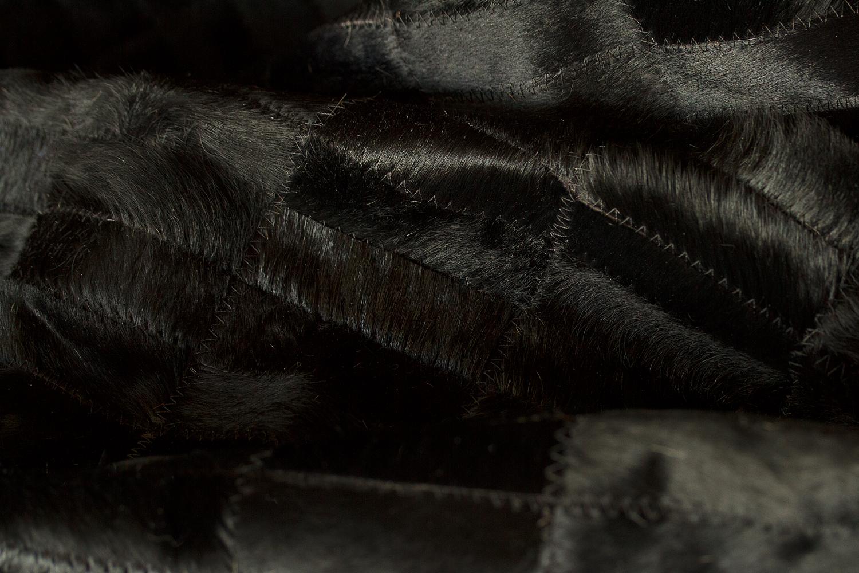 WILD COWHIDE RUG-BLACK-ZOOM