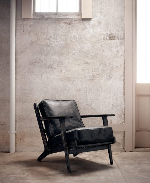 Brooks Lounge Chair Rialto Ebony