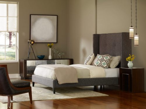 MADISON UPHOLSTERED BED 2