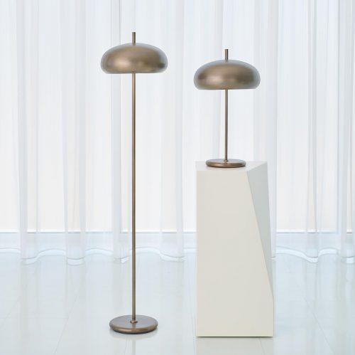 Dome Task Lamp-Light Bronze