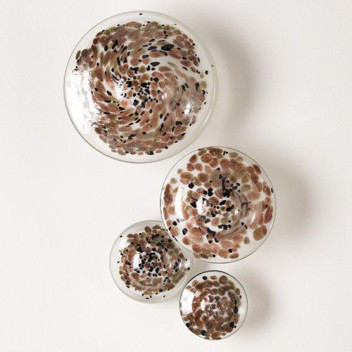 Glass Wall Mushrooms-Metallic