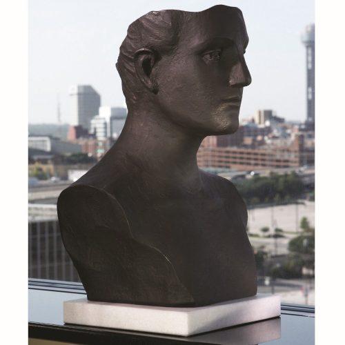 Head Sculpture-Cast Iron