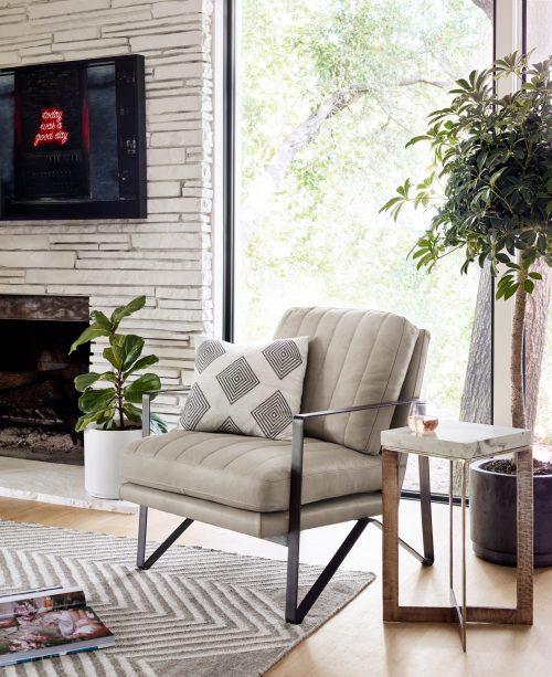 Kenzie Chair Ember Natural