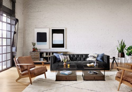 Maxx Sofa Destroyed Black