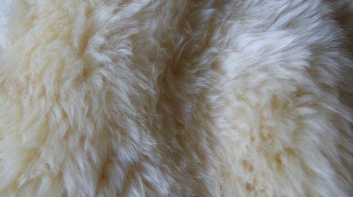 NEWZE peau de mouton naturel zoom