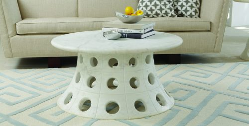 Taper Circle Cocktail Table