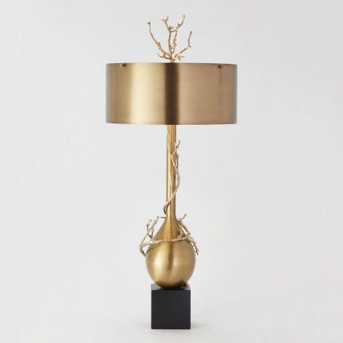 Twig Bulb Lamp-Brass