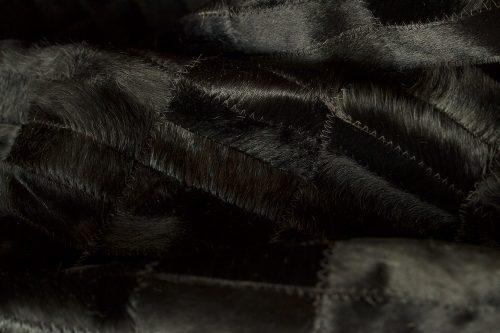 WILD peau de vache noir zoom