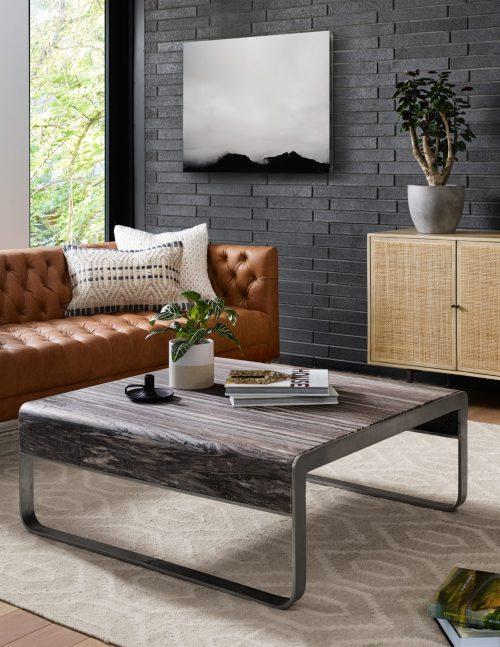 Williams Leather Sofa-75